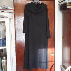 Lennie by nina Leonard grey sweater dress